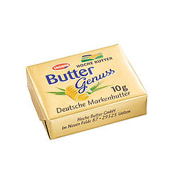 Download: 120062 - Buttergenuss Portionsbutter <span>10 g</span>