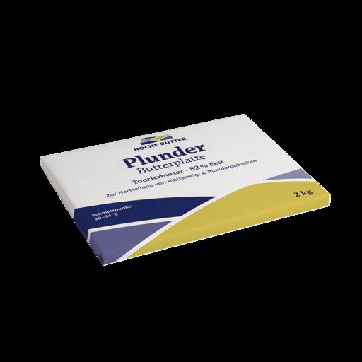 Plunder-Butterplatte 5 x 2 kg