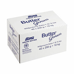 Download: 120086 - Buttergenuss Deutsche Markenbutter <span>250 g / Karton</span>