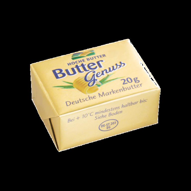 Buttergenuss Portionsbutter