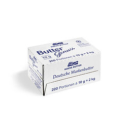 Download: 120062 - Buttergenuss Portionsbutter <span>10 g / Karton</span>