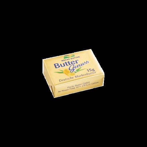 Buttergenuss Portionsbutter 15 g