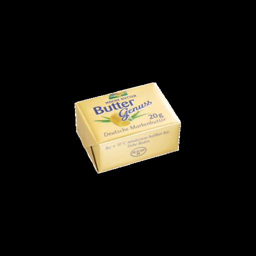 Buttergenuss Portionsbutter 20 g