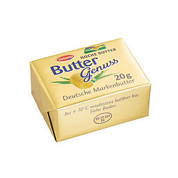 Download: 320 - Buttergenuss Portionsbutter <span>20 g</span>