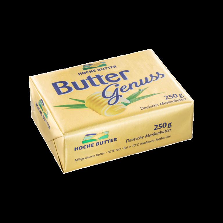 Buttergenuss Deutsche Markenbutter
