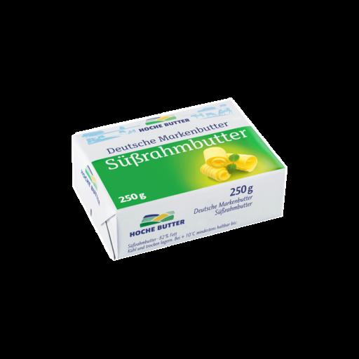 Deutsche Markenbutter Süßrahm 250 g